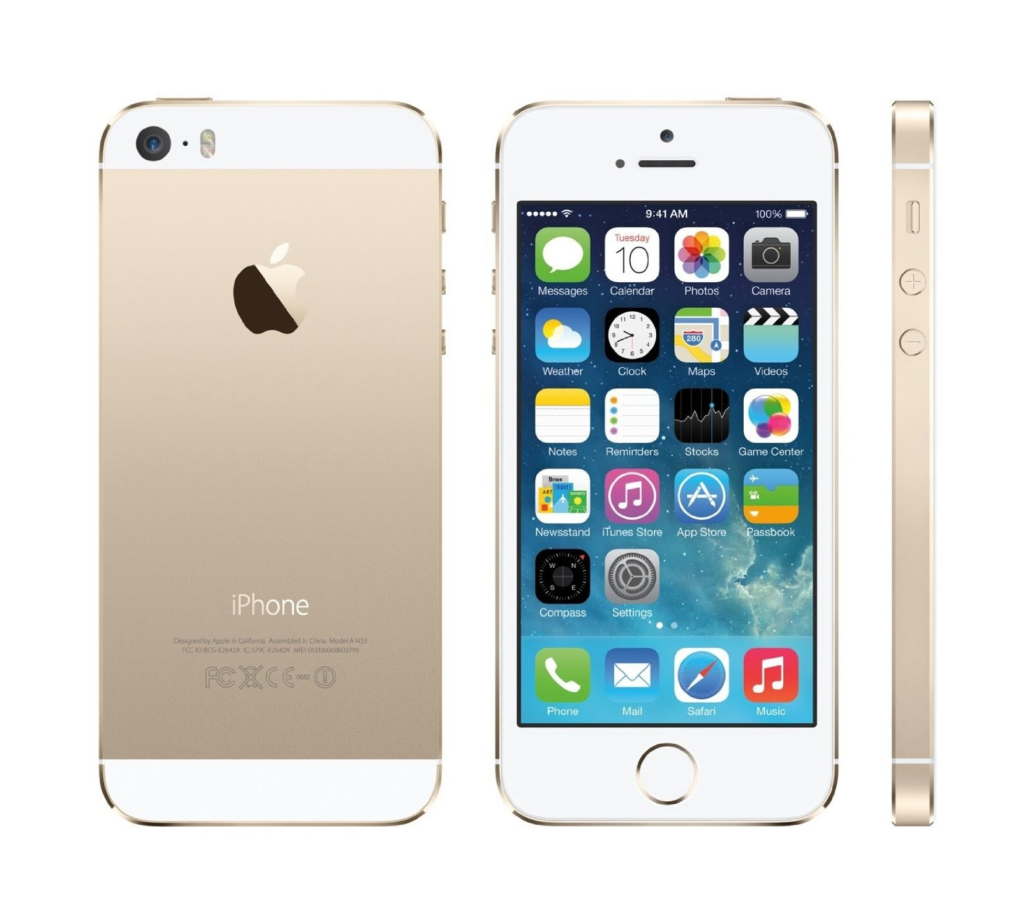 "Apple iPhone 5S 4"" 64Gb Gold"