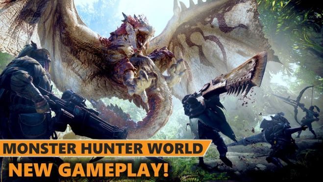 Обзор игры Monster Hunter: World.